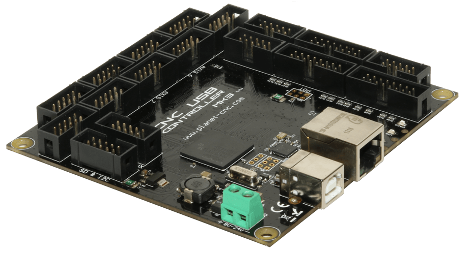Cnc Usb Controller Mk3 9 Axis Planet Cnc