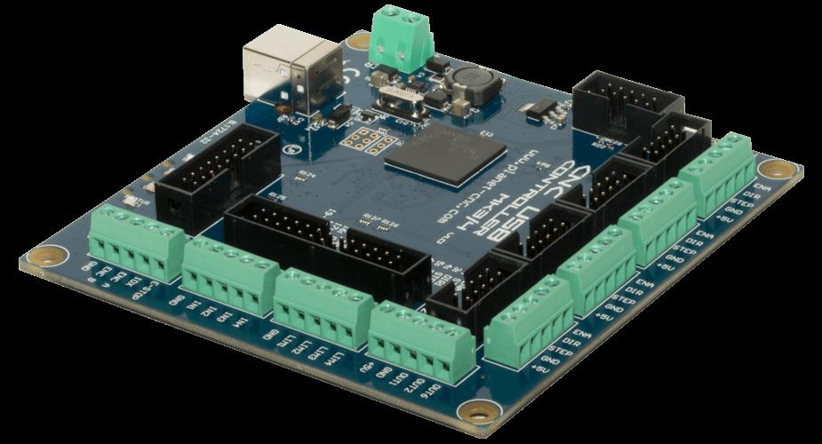 Cnc Usb Controller Mk3 4 4 Axis Planet Cnc
