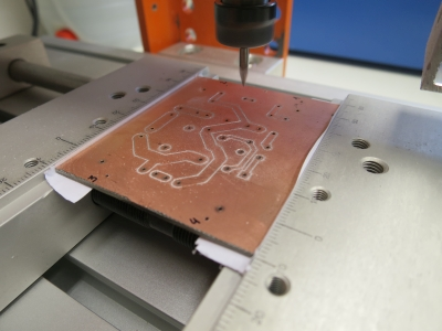 How To Mill And Drill Double Sided Pcb Using