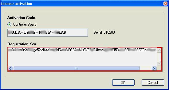 keygen usb cnc controller license activation code