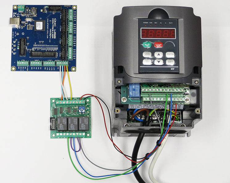 Using Output Board For Spindle Control