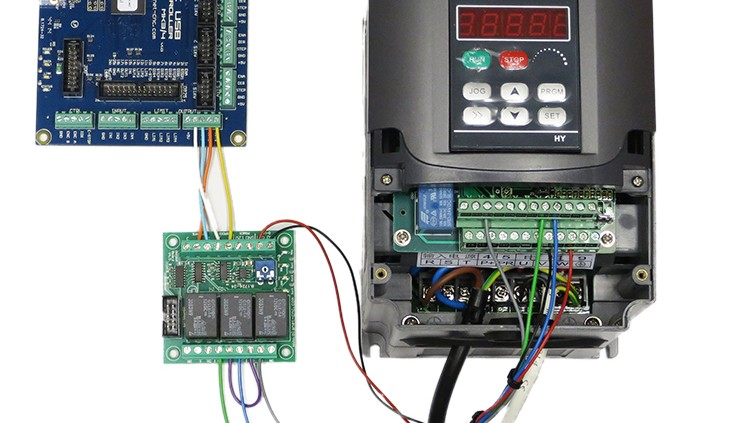 Diagram Using Output Board For Spindle Control