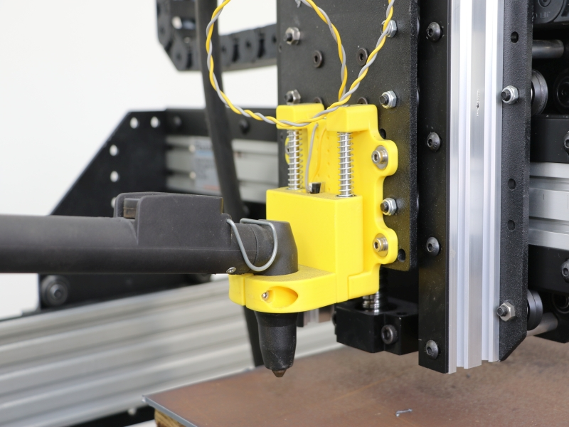 Floating Z Axis Planet Cnc